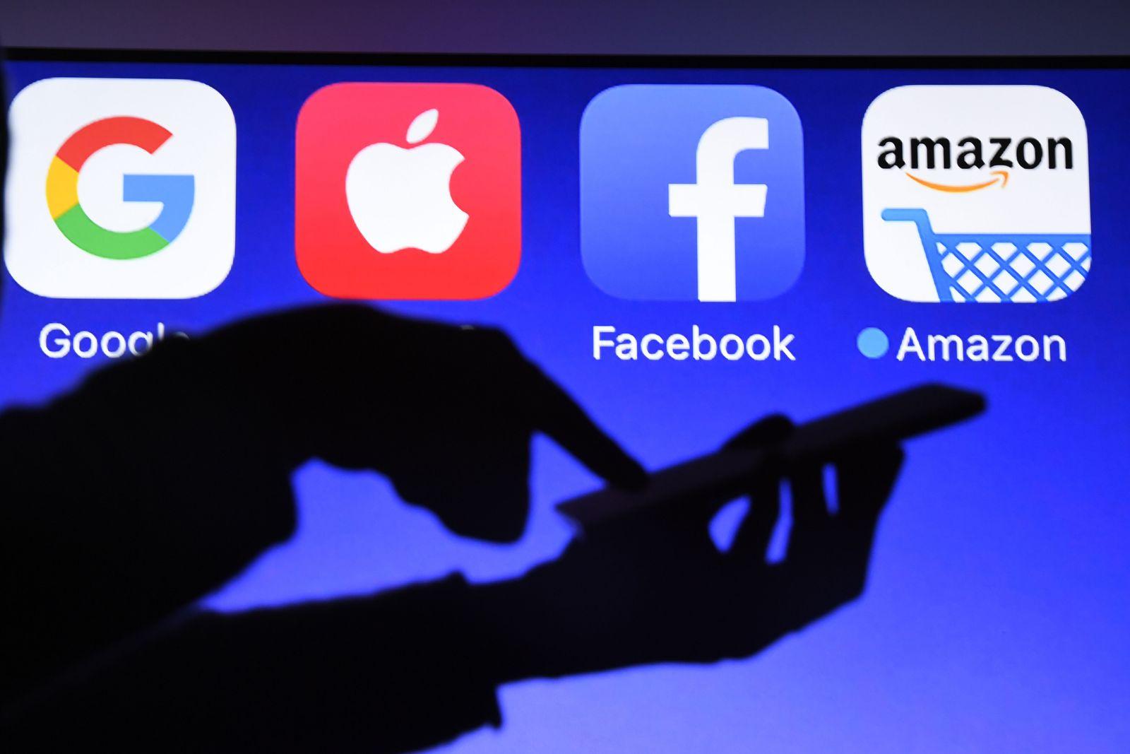 Facebook Google Amazon Apple