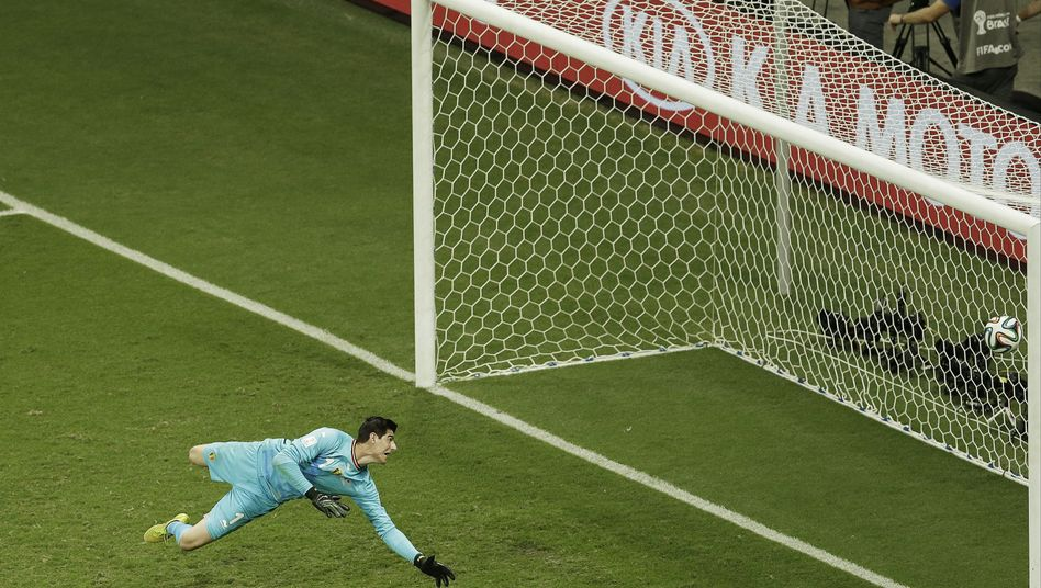 Belgiens Torhüter Thibaut Courtois: 21 Länderspiele, keine Niederlage