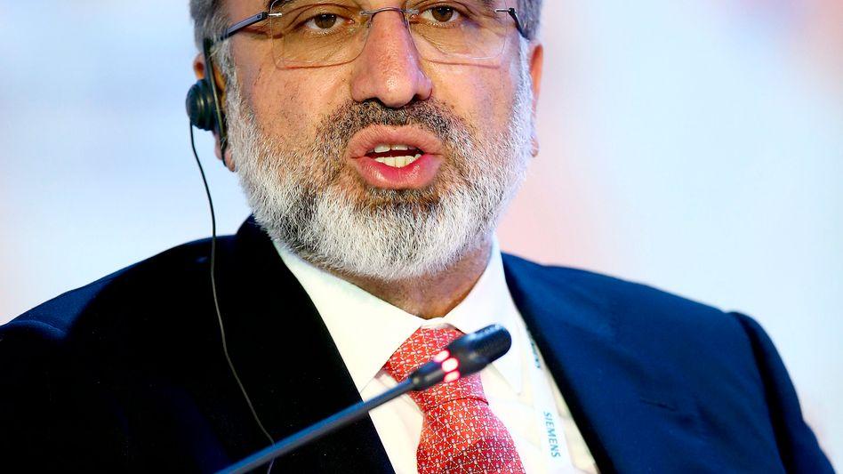 Türkischer Energieminister Taner Yildiz (Archivbild): Feuer an der Pipeline