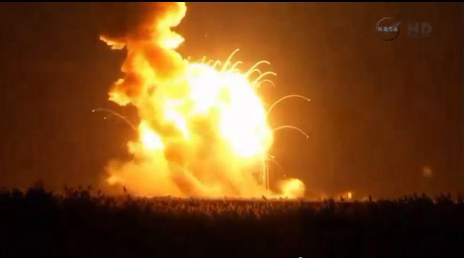 """Nachschubfür ISS: US-Raumfrachter """"Cygnus""""explodiert beim Start"""