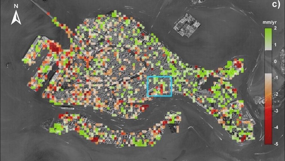 Venedigs Fluten: Wasser in der Altstadt: Wasser in der Altstadt