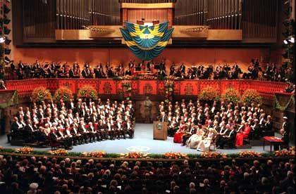 Festakt der Superlative: Nobelpreis-Verleihung in Stockholm (in der Neuzeit)