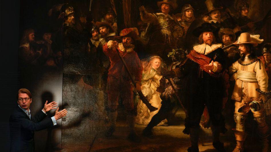 Birgt immer noch viele Geheimnisse: Rembrandts Meisterwerk »Nachtwache«