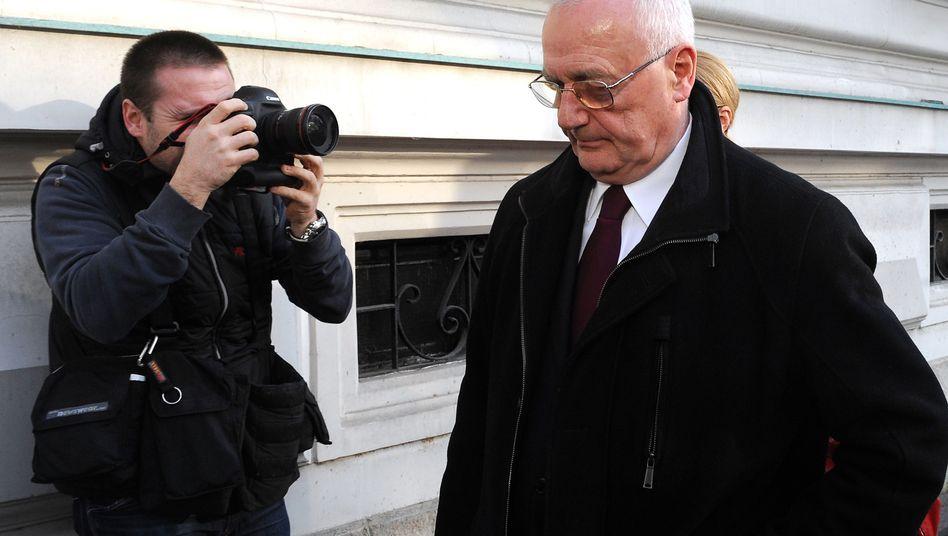 Angeklagter Josip Perkovic: Bundesanwaltschaft wollte jahrelang seine Auslieferung