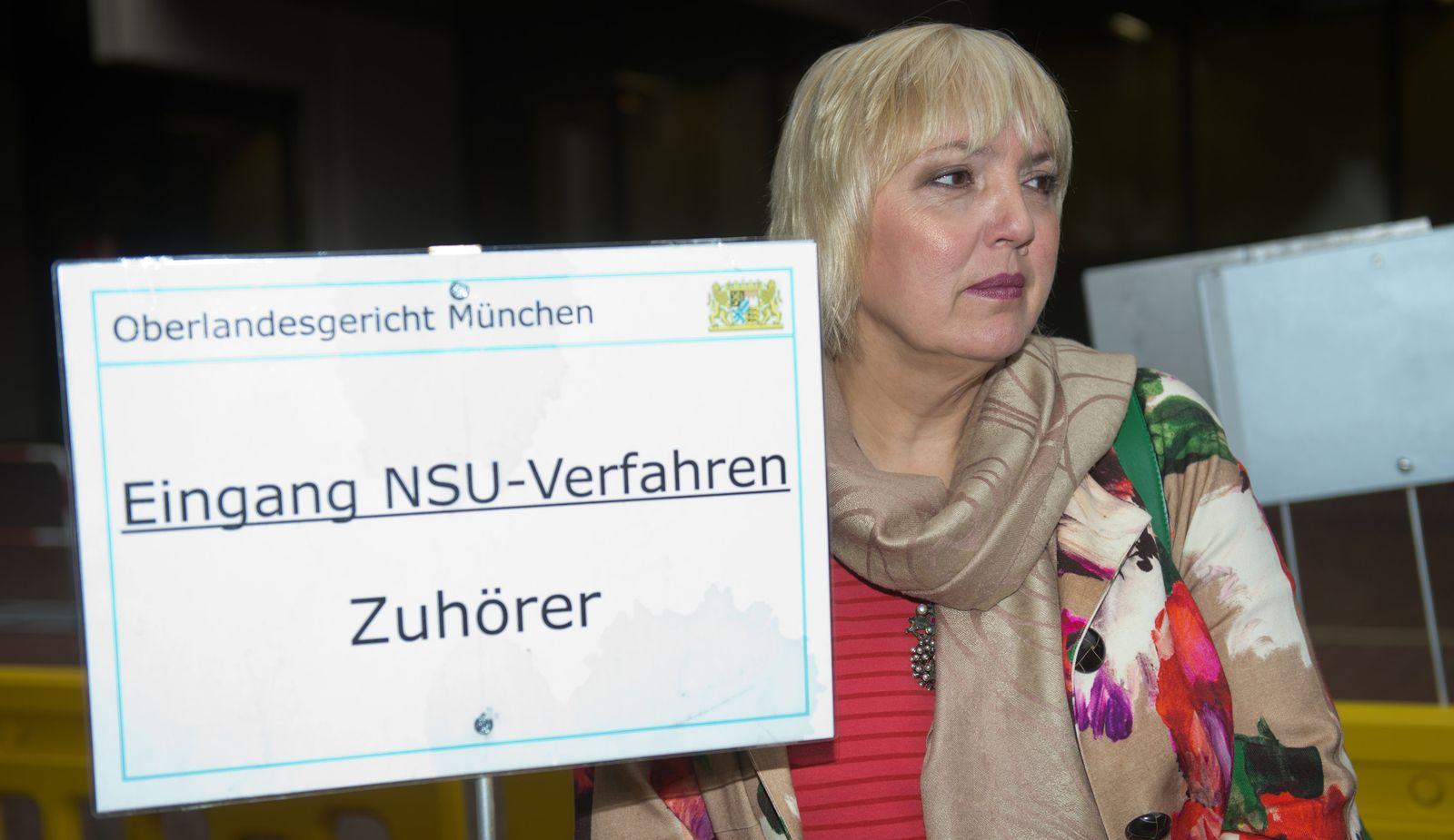 NSU Prozess / Claudia Roth