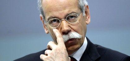"""Daimler-Chef Zetsche: """"Jahr der zwei Gesichter"""""""