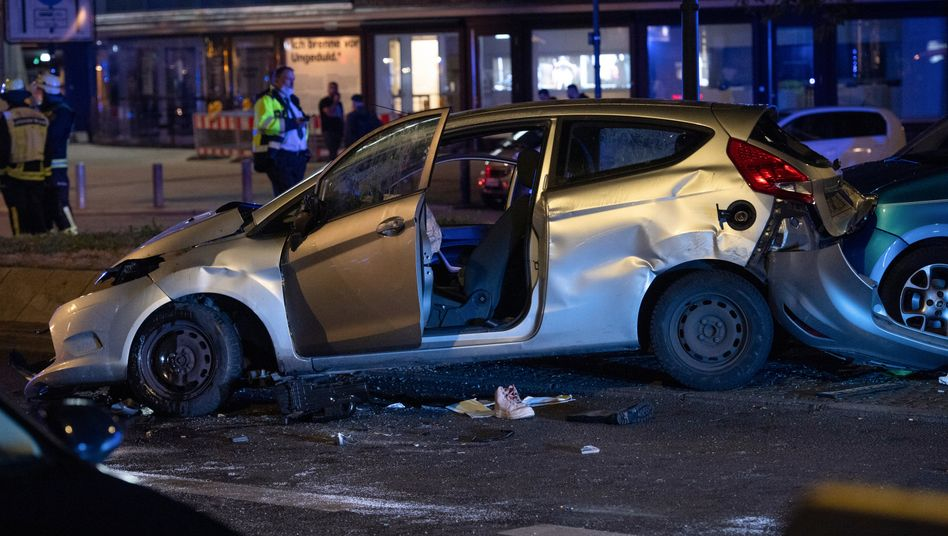 Unfallort am Berliner Kurfürstendamm