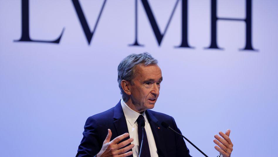 LVMH-Eigner und reichster Mann Frankreichs: Bernard Arnault