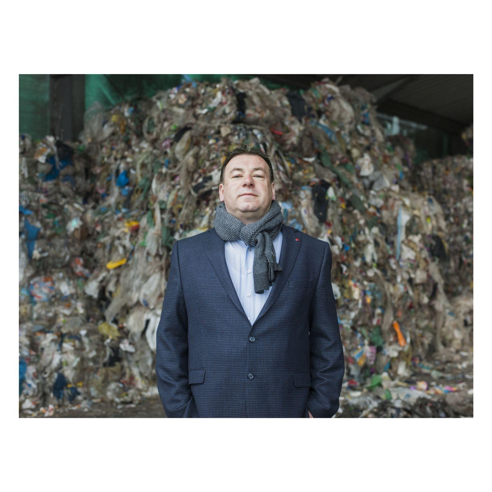 EINMALIGE VERWENDUNG SPIEGEL Plus SP 2018/11 S.58: Plastikmüll Deutschland China