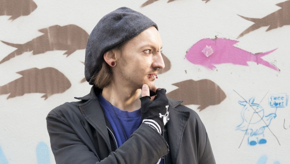 Paul Parszyk, Philosophiestudent: Ästhetik bedeutet für ihn auch Schmerz (Mehr Uni-Typen? Einfach auf das Bild klicken!)