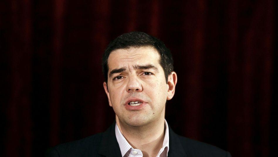 Griechischer Premier Tsipras: Gang nach Moskau