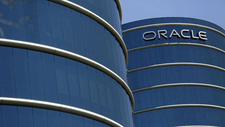 Der Oracle-Campus in Redwood City