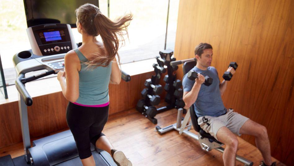 Übertragungsrisiko Fitnessstudio: Sars-CoV-2 ist auch über die Luft übertragbar