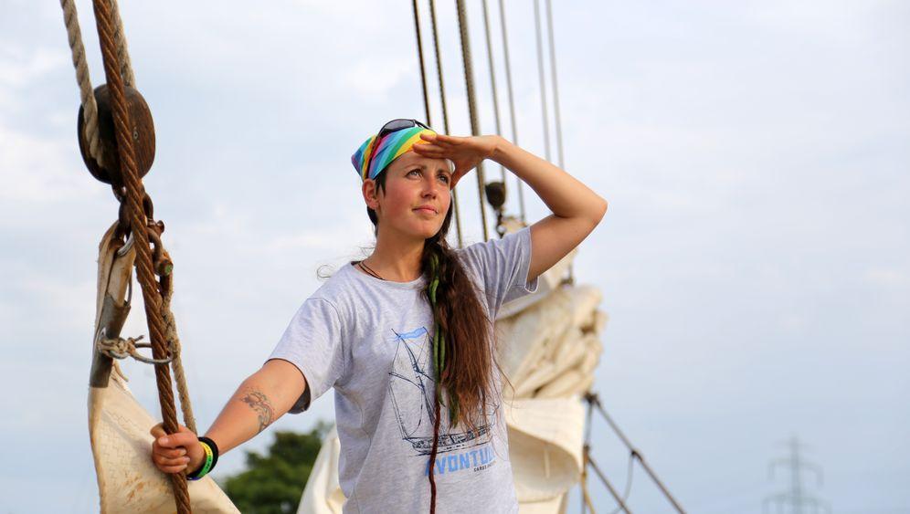 """Peggy Engelmann: """"Als ich das Schiff betrat, wusste ich, hier würde ich mitsegeln"""""""