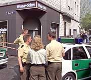 Tatort Friseur-Salon