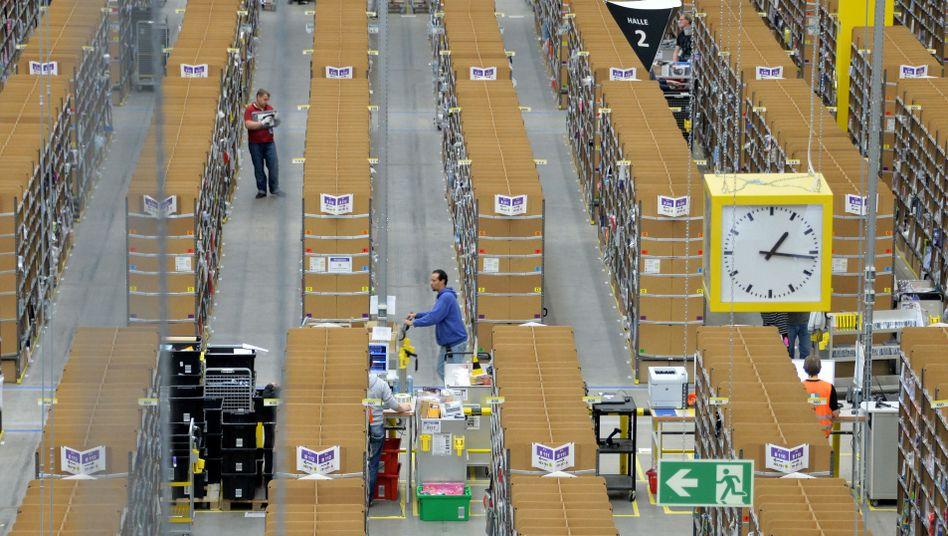 Amazon-Logistikzentrum in Brieselang