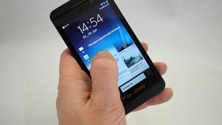 Starke Software, schwacher Akku: Das ist der Blackberry Z10