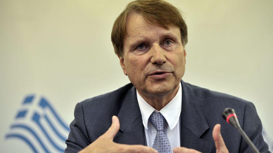 """Task-Force-Chef Reichenbach in Athen: """"Großartige Gelegenheit"""" für Investoren"""