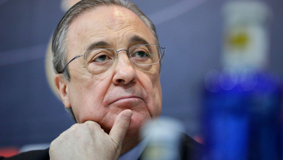 Real Madrids Präsident Florentino Perez