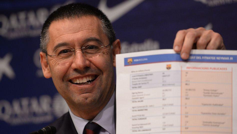 Barça-Präsident Bartomeu: Alle Zahlen zum Neymar-Transfer genannt