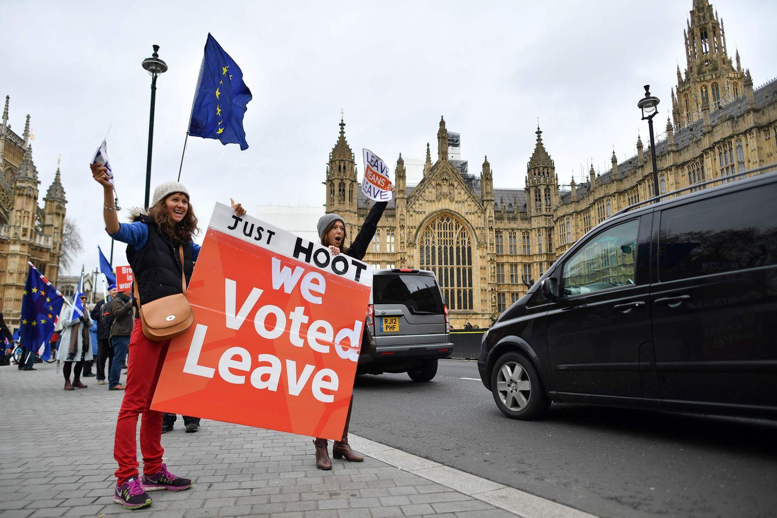 Pro-Brexit-Demo