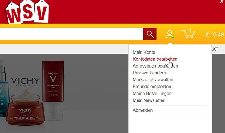 """Plötzlich eingeloggt: Über """"Kontodaten bearbeiten"""" ließen sich Telefonnummern von Klarna-Kunden einsehen"""