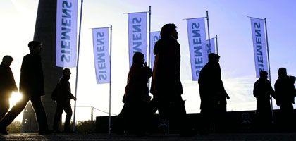 Siemens-Aktionäre (im Januar in München): Affäre in den USA nun juristisch ausgestanden
