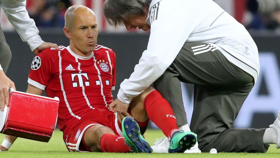 Arjen Robben (Mitte)