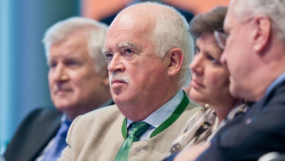 Politiker Gauweiler: CSU-Vize mit schwerem Stand in der Partei