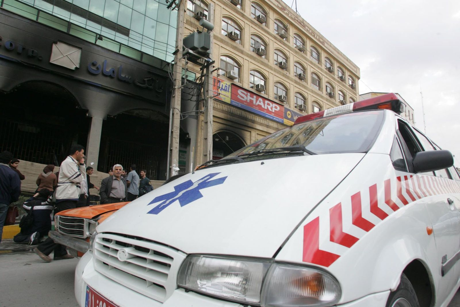 Iran / Krankenwagen / Symbol