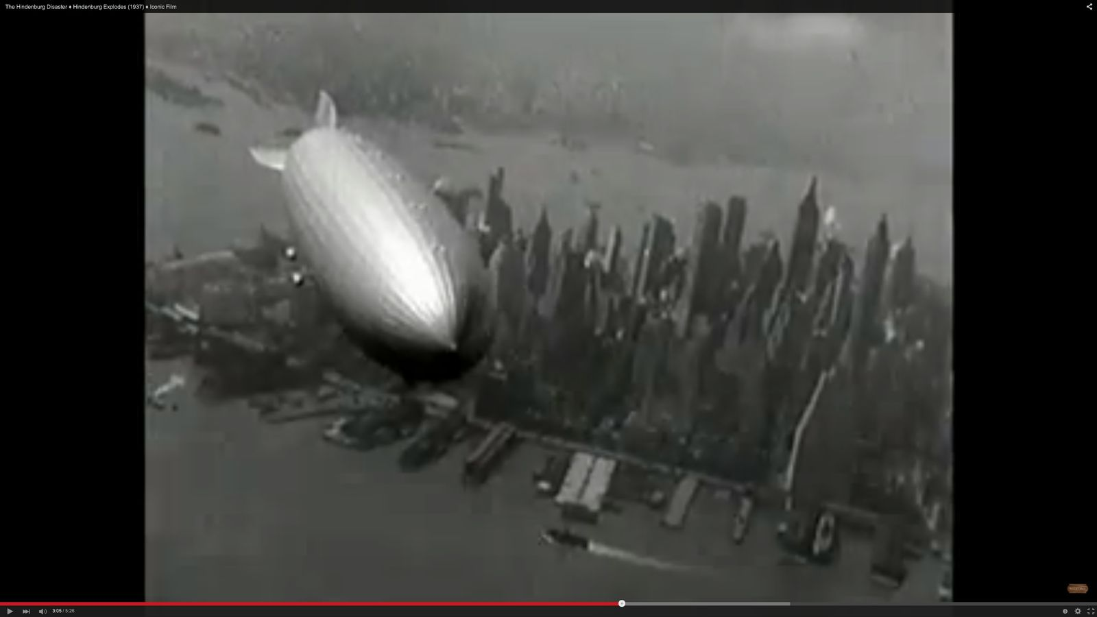 EINMALIGE VERWENDUNG Hindenburg YouTube