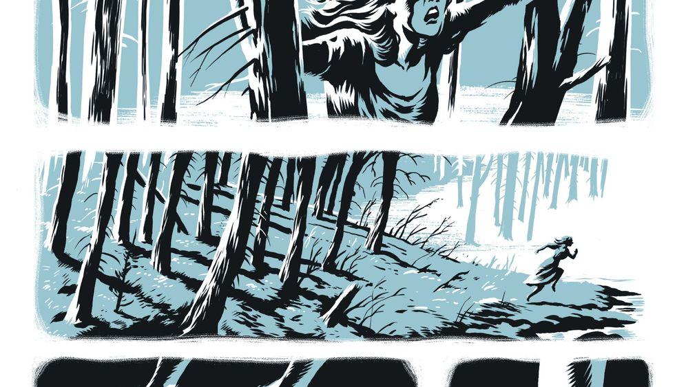 "Graphic Novel ""In the Pines"": ""Mädchen ermordet, Mörder bestraft"""