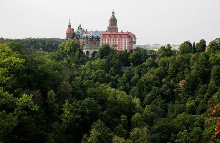 Schloss Ksiaz in Niederschlesien: Darunter liegen die Tunnel