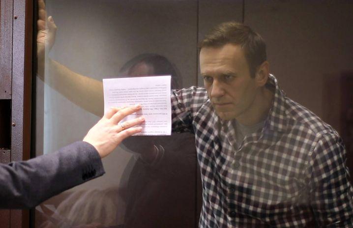 Alexej Nawalny vor Gericht in Moskau: Für seine Verfehlungen hat er sich nie entschuldigt