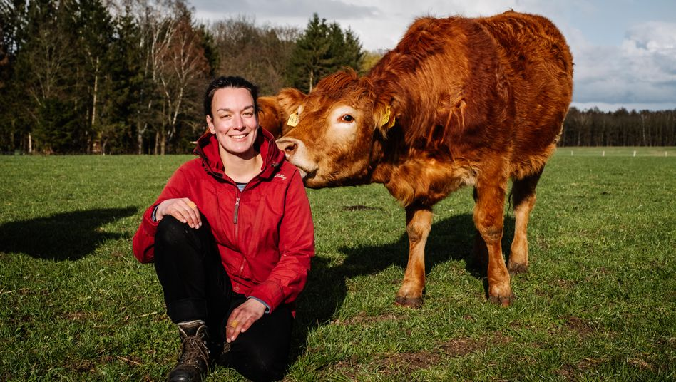 Elisabeth Fresen, Öko-Landwirtin aus der Nähe von Verden: »Ich erlebe viele junge Bauern, die richtig Bock haben, was zu machen. Aber nicht im bestehenden System.«