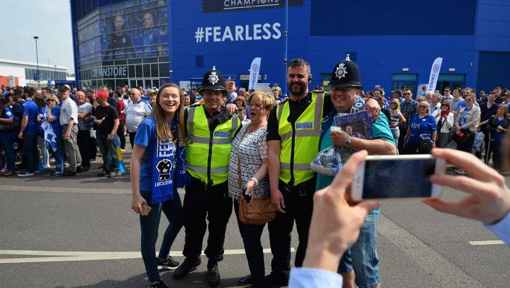 Leicesters letztes Heimspiel: Feiernde Füchse