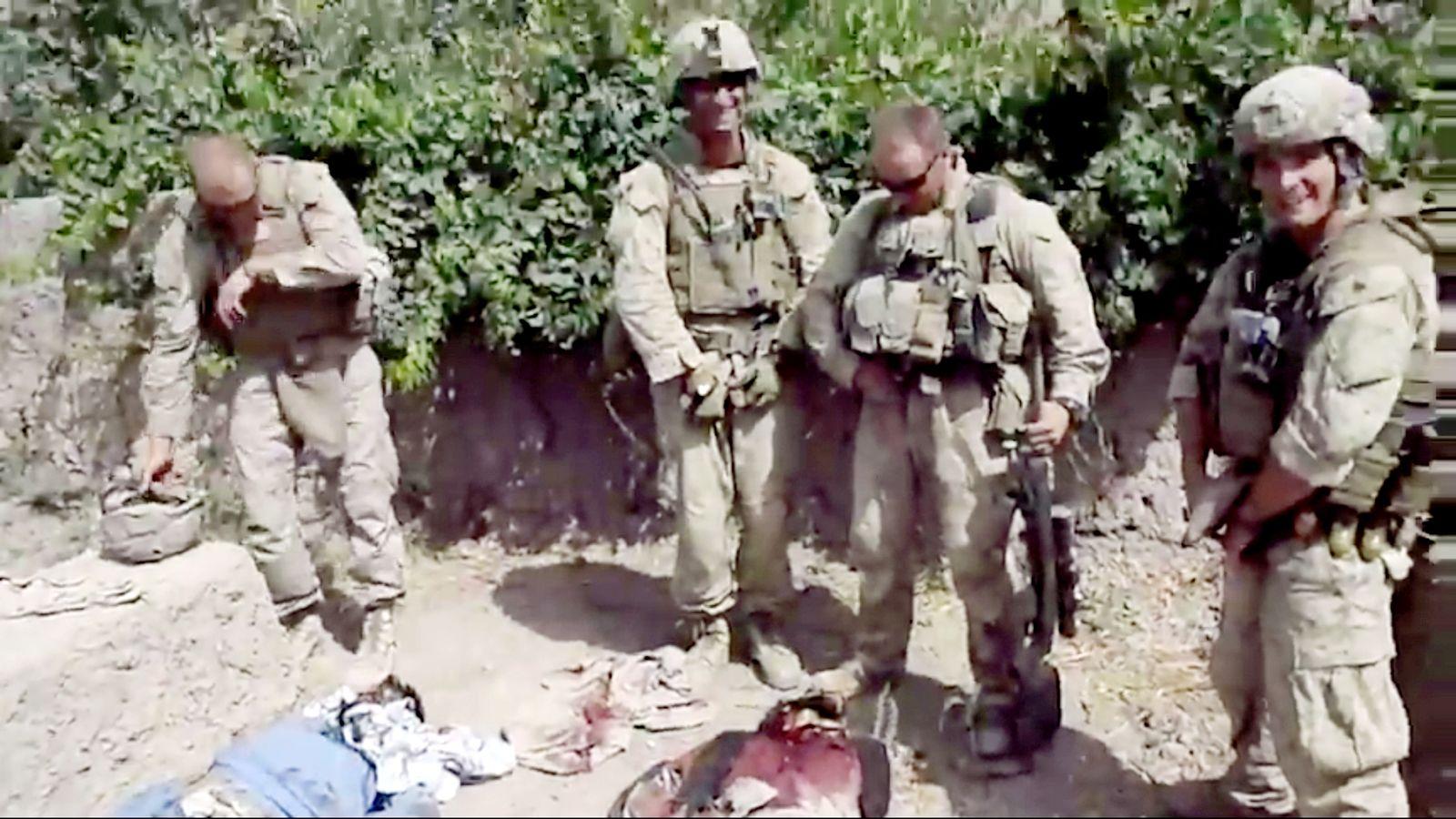 Afghanistan/ Marines/ Leichenschändung/ Video