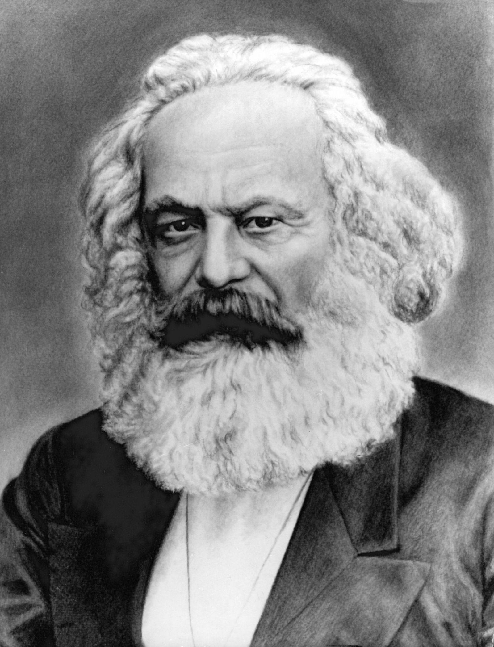 Karl Marx für Kolumnistenseite