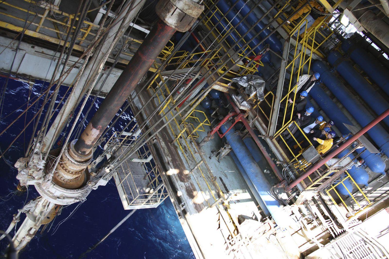 Zypern / Gas-Förderung von Noble Energy im Mittelmeer