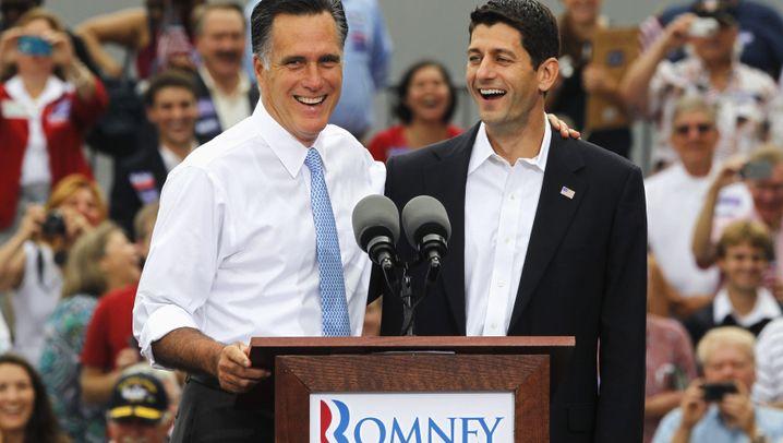 Kampf der Vizes: Joe Biden gegen Paul Ryan