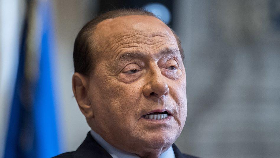 Der frühere italienische Premierminister SilvioBerlusconi (Archiv)