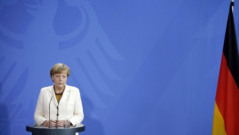 Bundeskanzlerin Merkel: Treffen mit Finnlands Regierungschef Alexander Stubb