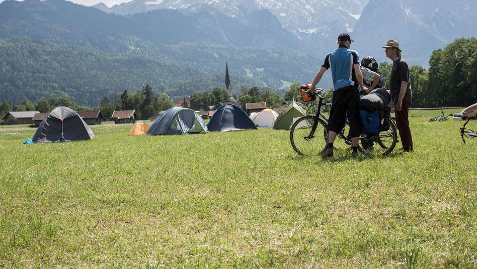 G7-Protestcamp in Loisach bei Garmisch: Zelten ohne Schnaps