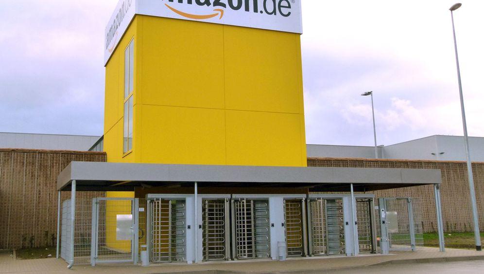 Amazon-Versandzentrum: Automat mit Menschen drin