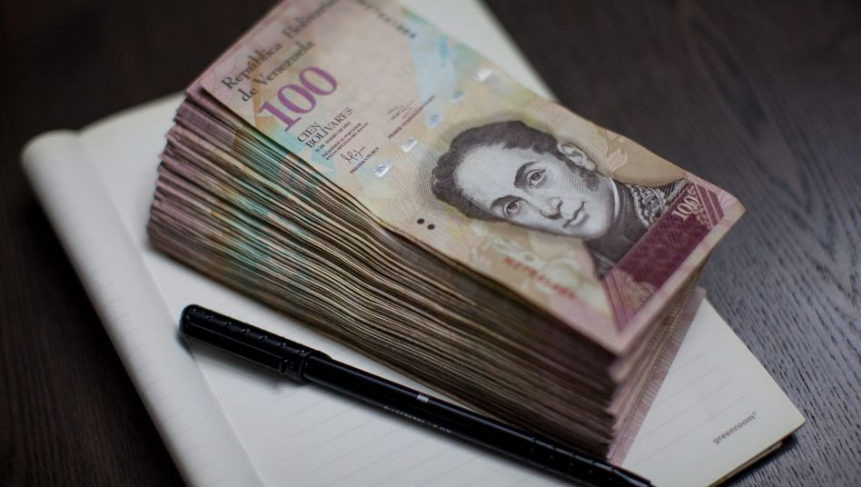 100-Bolivar-Noten