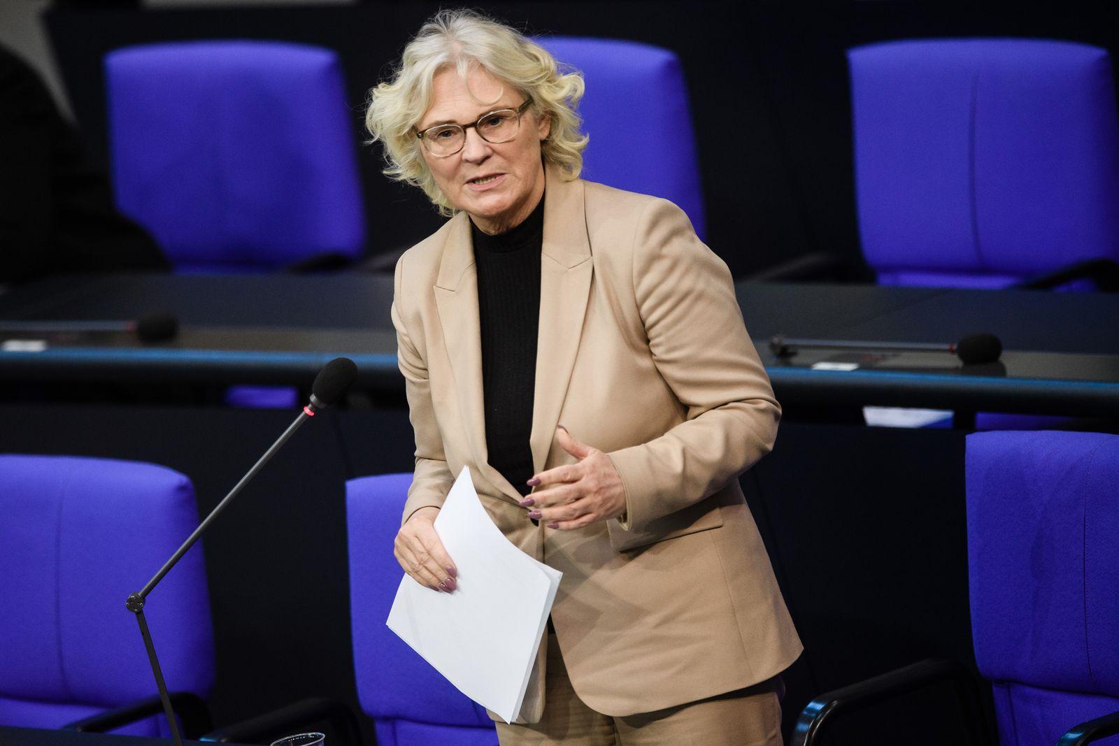 Question time at German parliament Bundestag, Berlin, Germany - 04 Nov 2020