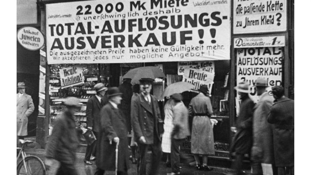 Bankenkrise 1931: Als ein deutscher Wollbaron die Welt erschütterte