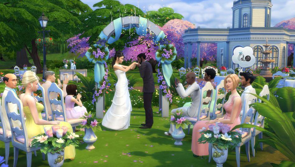 """Hochzeit in """"Die Sims 4"""""""