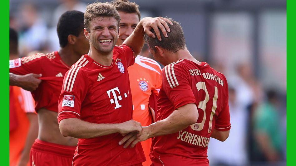 Jubelnde Bayern-Spieler: Statistik entkräftet die Vorurteile