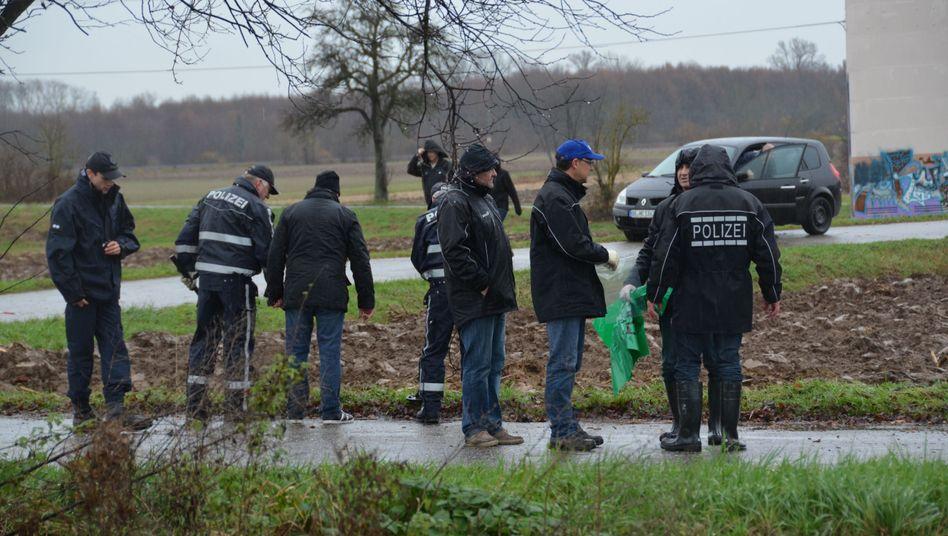 Polizisten in Friesenheim: Tödliche Schüsse an der Landstraße